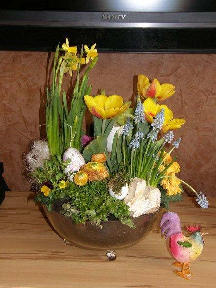 Osterdeko 'Frühling Ostern 2012'