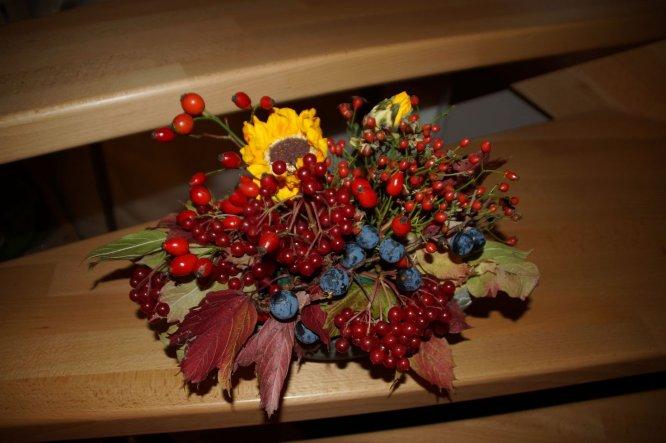 Deko 'Deko Herbst 2013 Blumen'