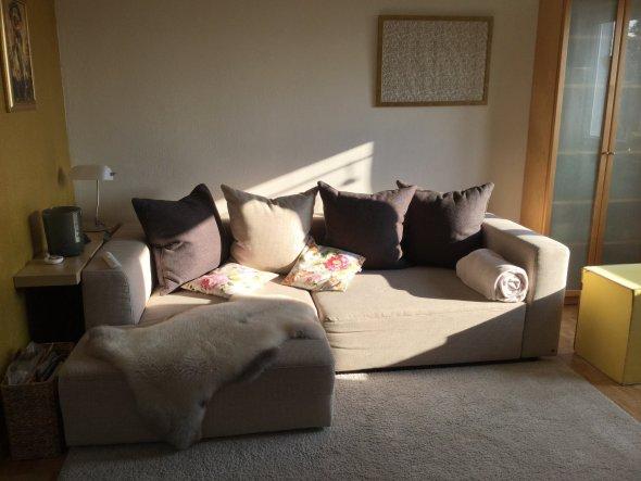 Unser neues Sofa...