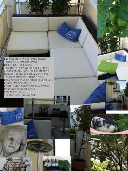 Terrasse / Balkon 'Balkon Nr. 1 Lounge 2011'