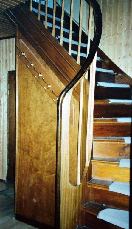 Die Treppe - vorher