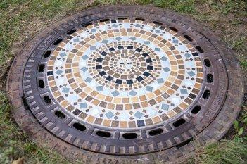 Tipp & Trick 'Mosaik - Gullideckel'