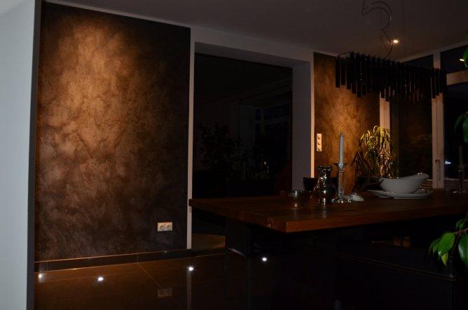 Die andere Seite. Richtung -links Wohnzimmer-rechts Küche
