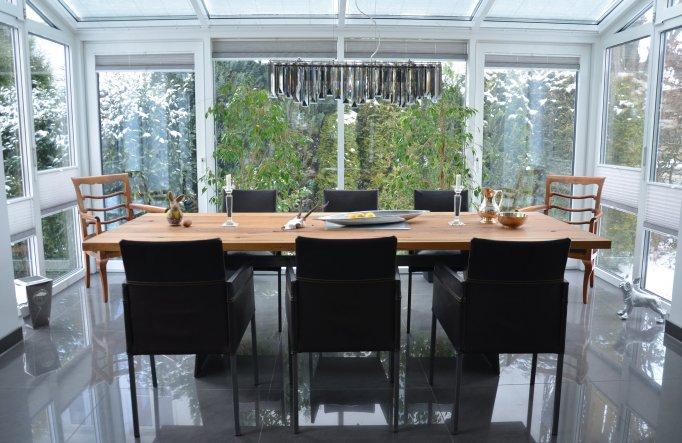 esszimmer 39 essimmer wintergarten 39 mein heim zimmerschau. Black Bedroom Furniture Sets. Home Design Ideas