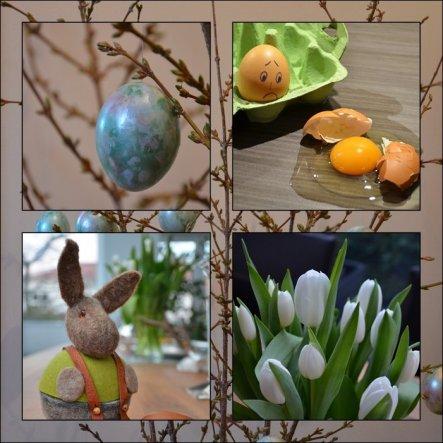 Bald ist Ostern.  Auf das bei den Vorbereitungen alles gut geht. :D
