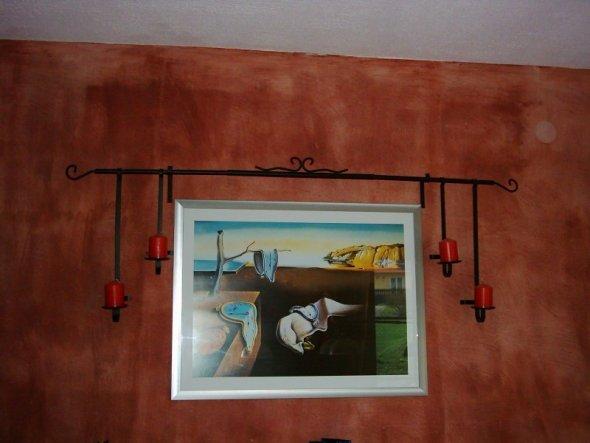 Wanddeko im Esszimmer