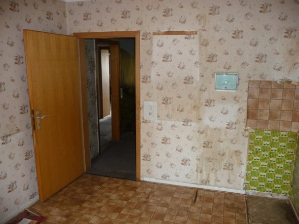 Wohnzimmer 'Vorher'