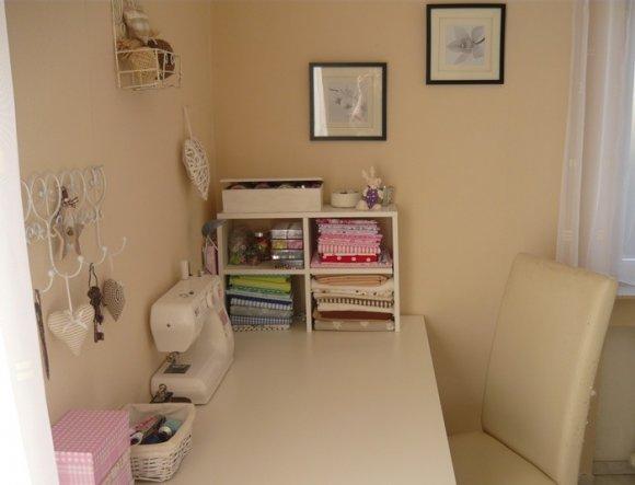 nähecke im wohnzimmer:Arbeitszimmer / Büro ' Nähecke im Wozi'