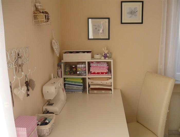arbeitszimmer b ro 39 n hecke alte wohnung 39 unser zuhause zimmerschau. Black Bedroom Furniture Sets. Home Design Ideas