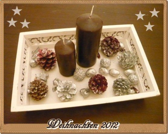 Weihnachtsdeko 'Kleines bisschen Weihnachten'