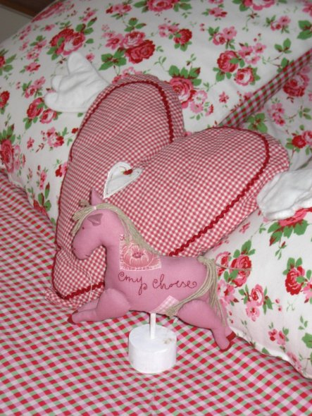 Schlafzimmer 'Traum in rosa'