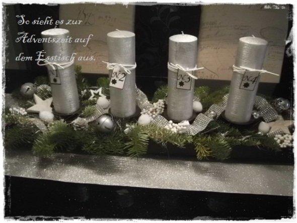 Weihnachtsdeko 'Unser Adventskranz'