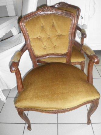So sah der Stuhl aus als ich ihn bekommen habe...