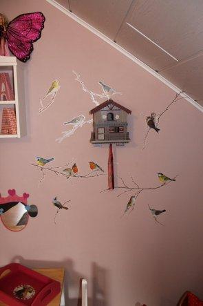 Ein Wunsch meiner  Tochter. Wir haben dieses total süße Vögelhäuschen von unserem letzten Urlaub mitgebracht