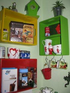 Kleine Küche mit Charme