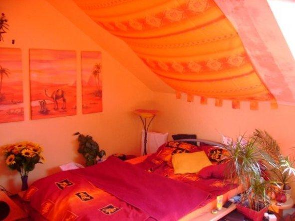 Schlafzimmer 'Schlafzimmer Bett' - Südseetraum - Zimmerschau