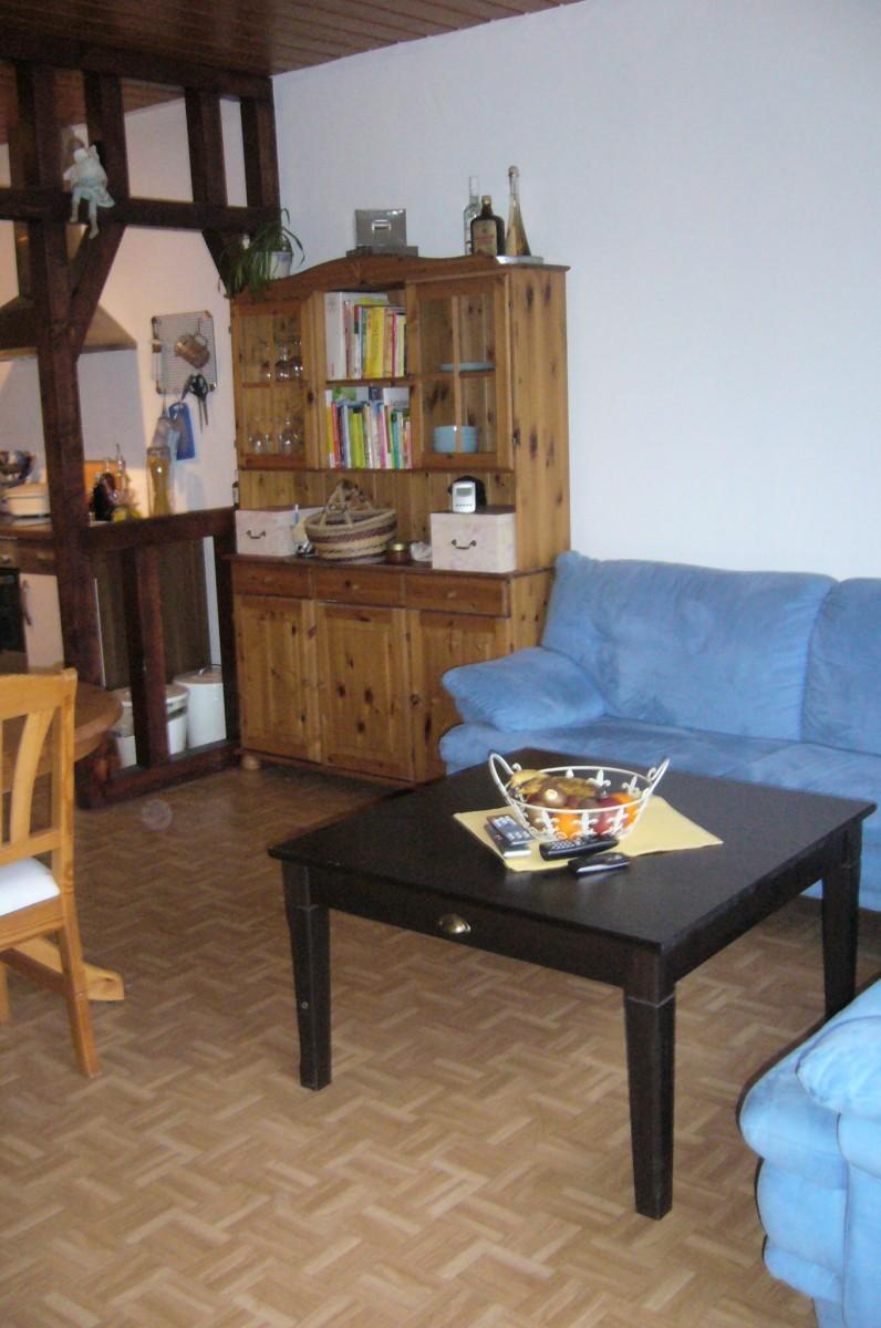 Wohnzimmer Wohn/Esszimmer mit integrierter Küche von Engelzauber ...