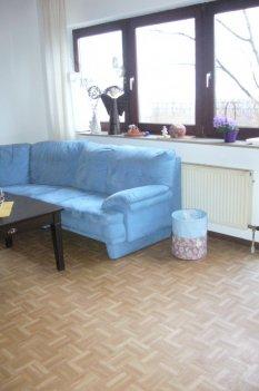 Wohn/Esszimmer mit integrierter Küche
