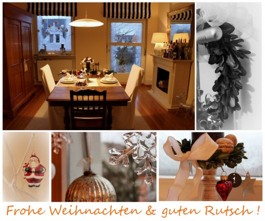 Weihnachtsdeko 'It's Christmas Time'