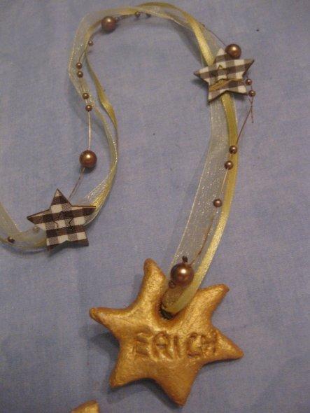 Motto: Ein Stern, der deinen Namen trägt. Praktisches und nettes Namensschild für Geschenke.