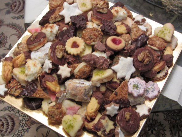 Esszimmer 'Weihnachtsbäckerei'