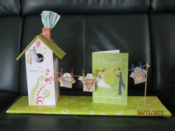 Wohnzimmer skandinavisch wohnen wohnzimmer : Tipp von Chrinette: Geldgeschenk nett verpackt - Zimmerschau