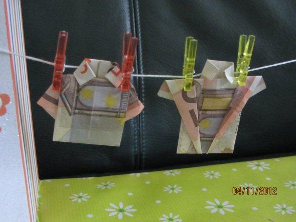Tipp von Chrinette: Geldgeschenk nett verpackt - Zimmerschau