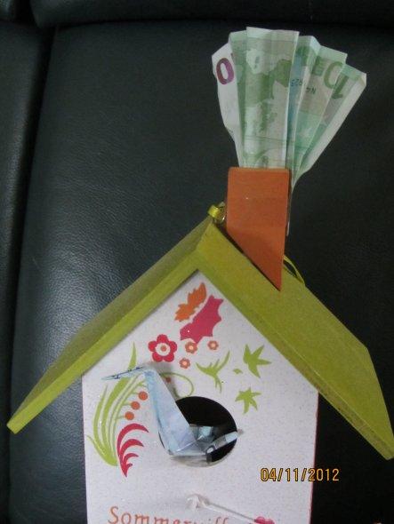 tipp von chrinette geldgeschenk nett verpackt zimmerschau. Black Bedroom Furniture Sets. Home Design Ideas