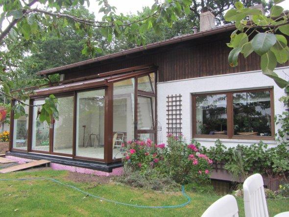 hausfassade au enansichten 39 wintergartenbau juli sept. Black Bedroom Furniture Sets. Home Design Ideas