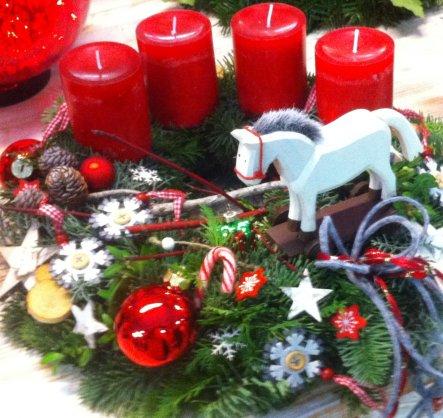 Weihnachtsdeko 'Advent und Weihnachten 2013'
