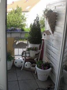 Der neue Balkon
