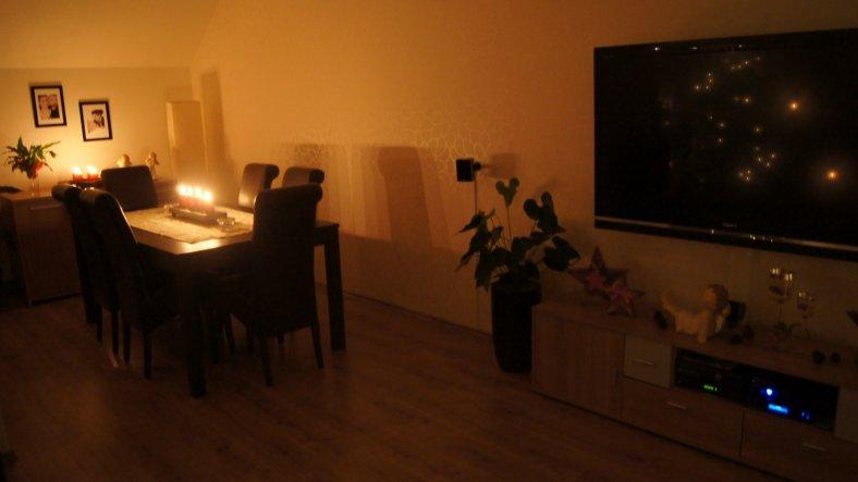 Weihnachtsdeko 39 wohnzimmer 39 muckelh uschen zimmerschau - Weihnachtsdeko wohnzimmer ...