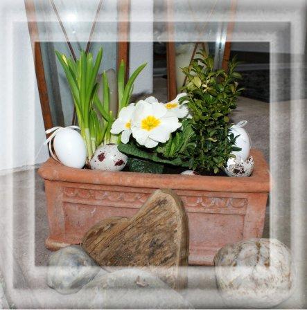 Osterdeko 'Easter <3'