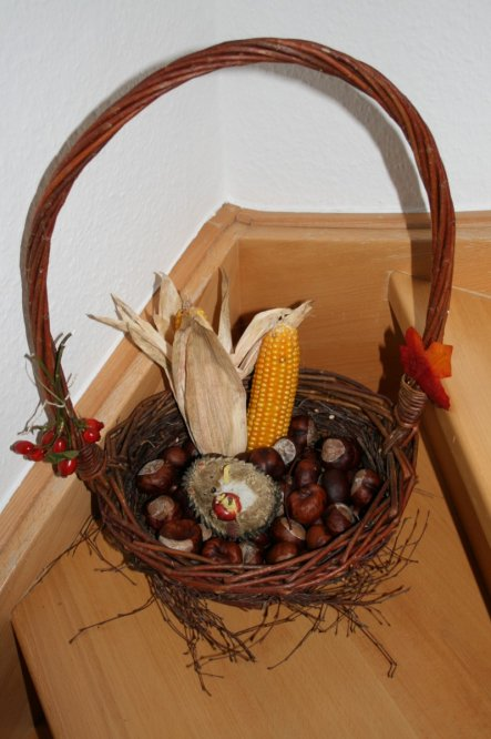 Deko 'Herbstlust im Haus'