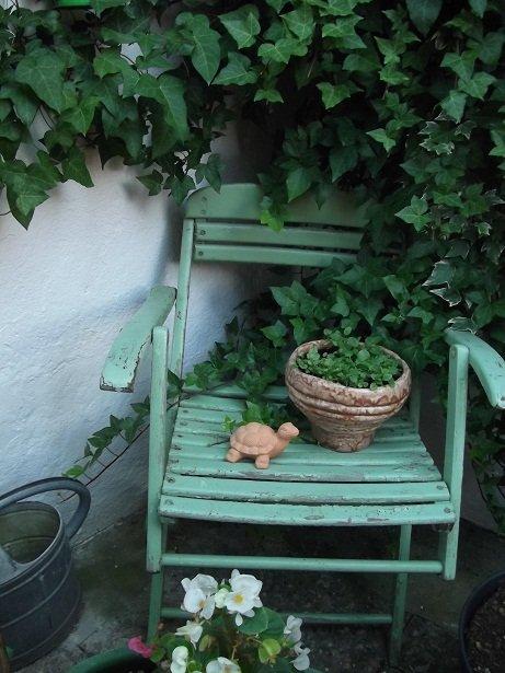 Garten 39 gartenparadies 39 unser kleines reich zimmerschau for Verrostete deko