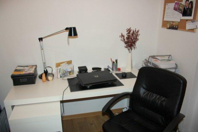 arbeitszimmer b ro 39 arbeitszimmer 39 unsere wohnung. Black Bedroom Furniture Sets. Home Design Ideas