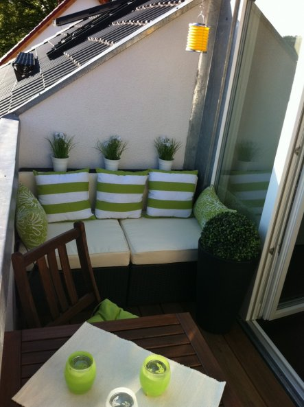 terrasse balkon 39 balkon 39 letzte wohnung zimmerschau. Black Bedroom Furniture Sets. Home Design Ideas