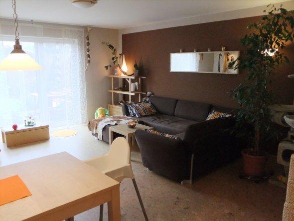 wohnzimmer 'wohnzimmer alt' - von der stadt auf´s land - zimmerschau - Wohnzimmer Ideen In Braun