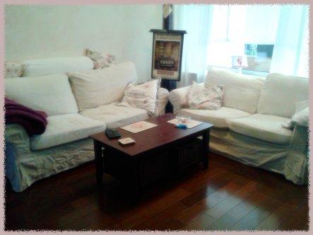 Wohnzimmer 'Der gemütliche Bereich '