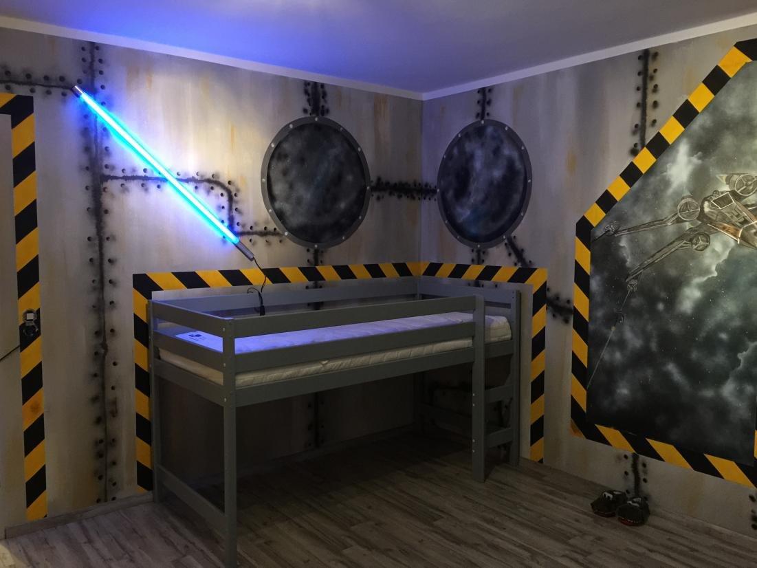 Innovativ Kinderzimmer 'StarWars Kinderzimmer' - La Maison Du Bonheur  VC67