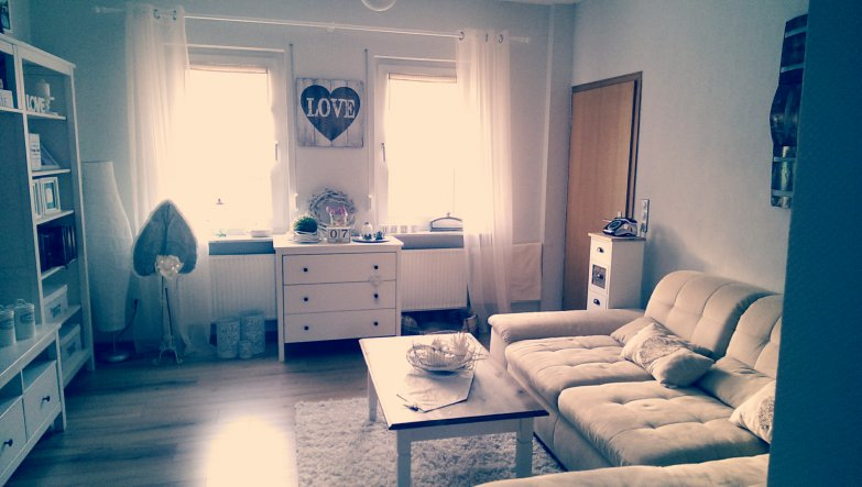 Wohnzimmer 'Unser gemütliches Wohnzimmer'