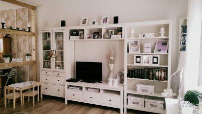 Unser gemütliches Wohnzimmer