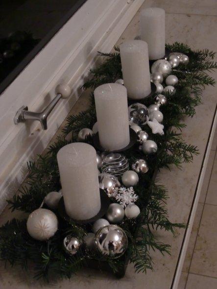 Weihnachtsdeko 'Wintergarten'