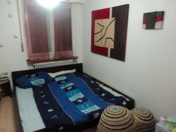 das ist unser kleines schlafzimmer.es war ursprünglich das kinderzimmer!