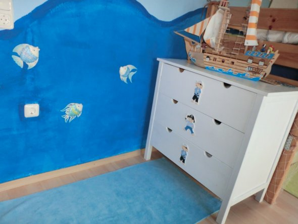 Kinderzimmer 'Piratenzimmer'