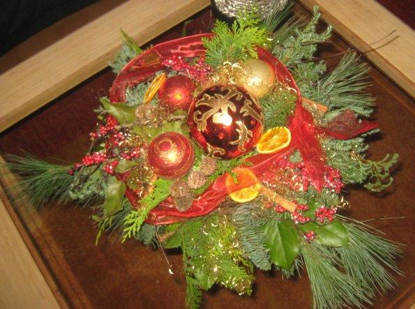 Weihnachtsdeko 'Dekoration'