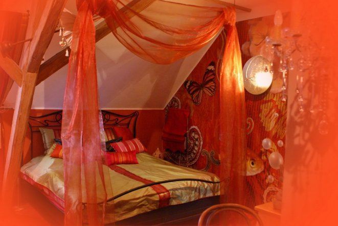 Wohnzimmer 39 g stezimmer 39 schmiedhaus zimmerschau - Orientalische wanddeko ...