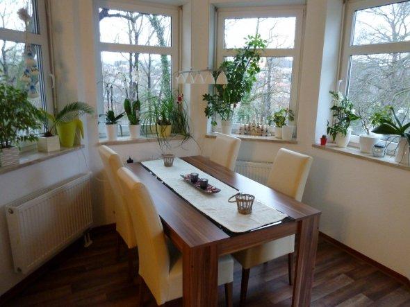 esszimmer 39 tischlein deck dich 39 homesweethome zimmerschau. Black Bedroom Furniture Sets. Home Design Ideas