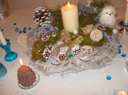 Weihnachtsdeko 'Frohe Weihnachten  and a Happy New Year!'