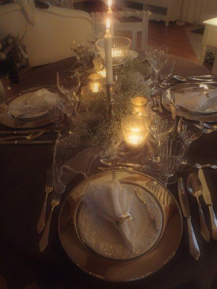 Wohnzimmer 'Tischdeko'